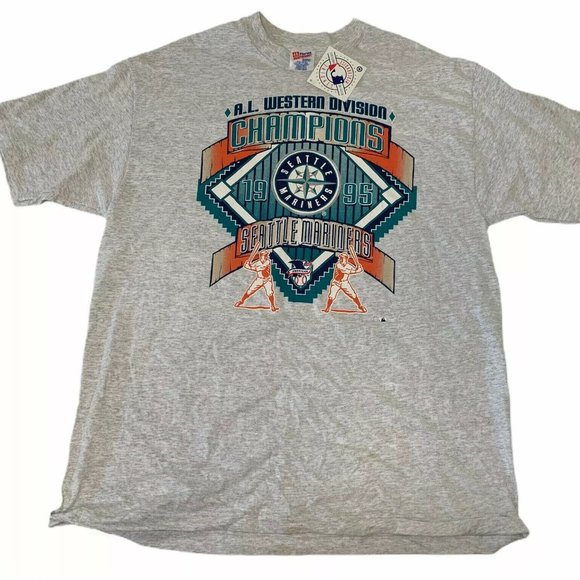 Hanes Other - New Seattle Mariners 1995 Championship Tshirt Mens